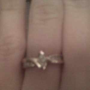 my promise ring that Josh gave me 4 xmas : )