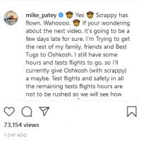 "Screenshot 2021-07-26 at 10-50-18 Mike Patey on Instagram ""🤠 Yes 🤠 Scrappy has flown Wahoooo 🤠...png"