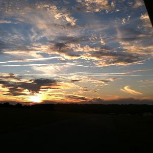 Florida sunset at 97FL