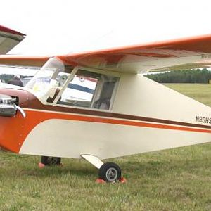 Aerosport Quail designed by Harris Woods Built and flown over 1,000 trouble-free hours by Harold Shehane