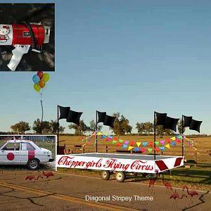 DSC 0627 Choppergirl's Flying Circus Speaker Announcer Platform with Zero