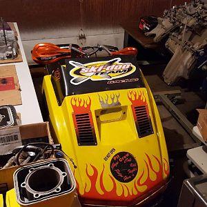 MY 1972 292 TNT RACER