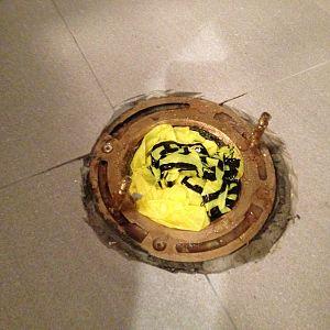 Post Reno Sewer Gas Smell pics