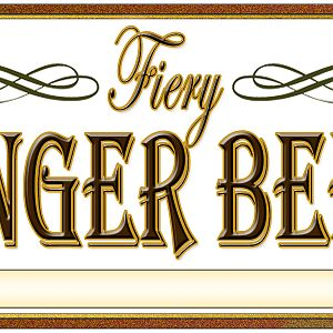 Fiery Ginger Beer Label
