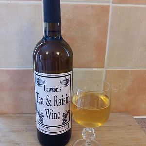 Tea and Raisin Wine
